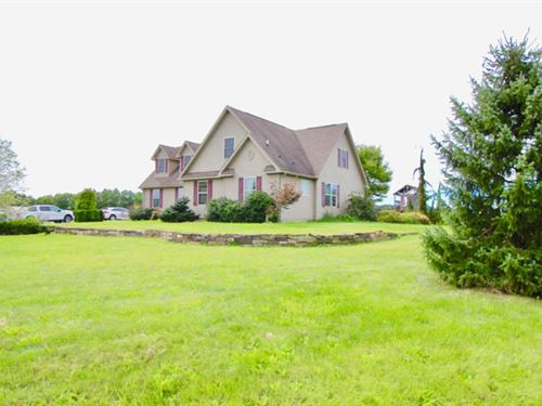 23+/- Acres With Custom Built Home : Danville : Montour County : Pennsylvania