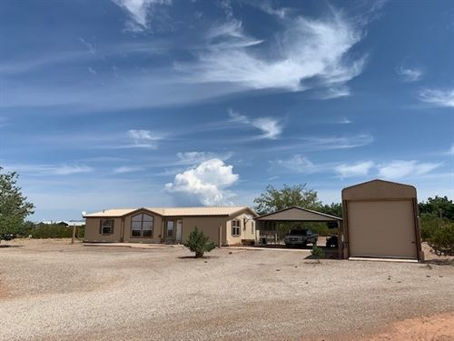 Five Acres With Home And rv Storage : Tularosa : Otero County : New Mexico
