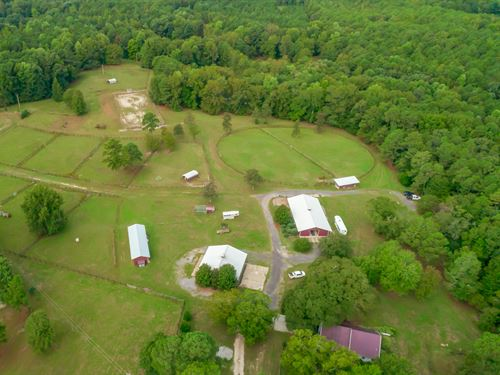 The North Columbia Equestrian Farm : Coloumbia : Richland County : South Carolina