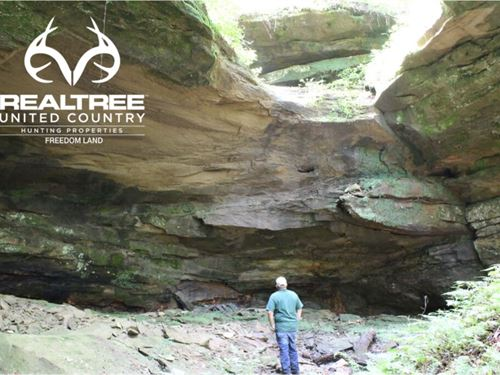 Ohio Land For Sale In Hocking Hills : Logan : Hocking County : Ohio
