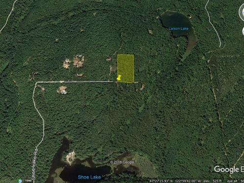 5.04 Acres In Mason County Wa : Tahuya : Mason County : Washington