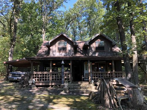 51 Acres With Two Cabins in St : Collins : Saint Clair County : Missouri