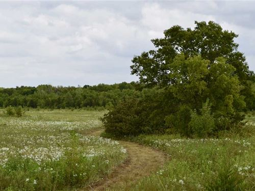 Delta County Recreational Property : Charleston : Delta County : Texas