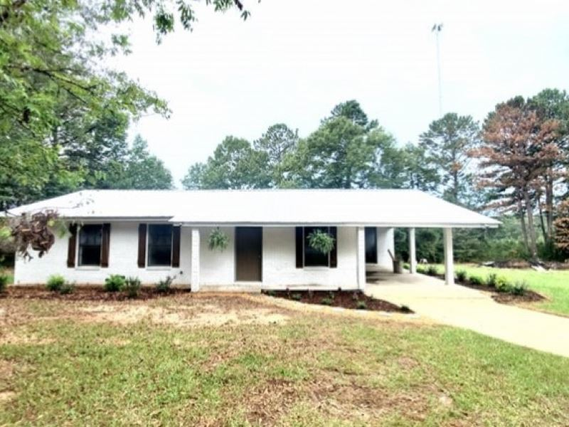 1.5 Acres With A Home In Lincoln CO : Bogue Chitto : Lincoln County : Mississippi