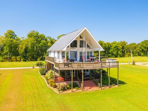 TN Riverfront Home Gated Community : Decaturville : Decatur County : Tennessee