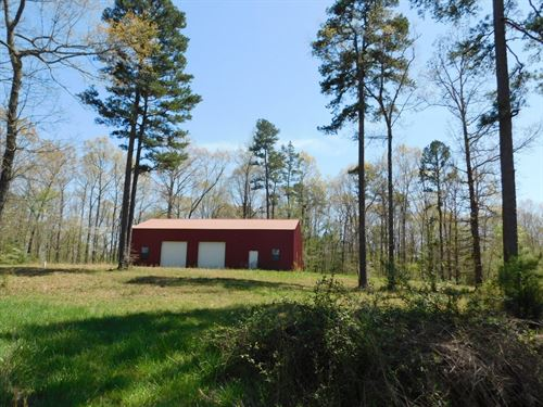 TN Hobby Farm, Pasture, Barn, Shop : Lawrenceburg : McNairy County : Tennessee