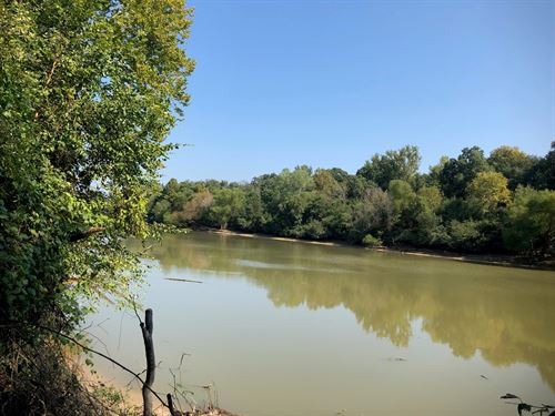 Hardwood Timberland Ouachita River : El Dorado : Union County : Arkansas