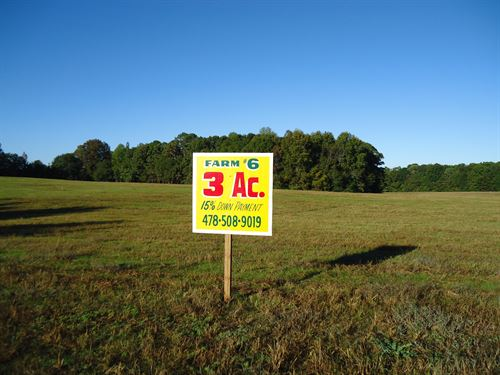 Beautiful Pasture Homesite : Griffin : Spalding County : Georgia