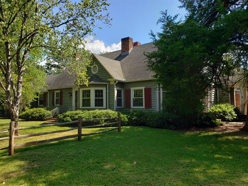 Tarversville Historic Home : Tarversville : Twiggs County : Georgia