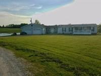 Mo Farmette, Lake, Country Home : Arbela : Scotland County : Missouri