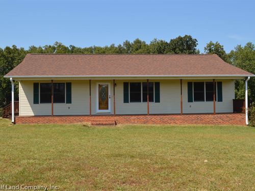 Home With Creek In Gaffney : Gaffney : Cherokee County : South Carolina
