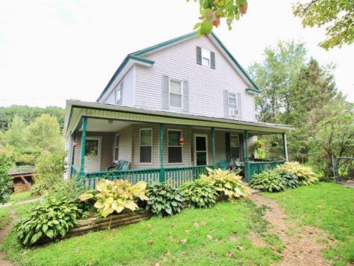 30 +/- Acres, Quaint Farmette : Benton : Columbia County : Pennsylvania