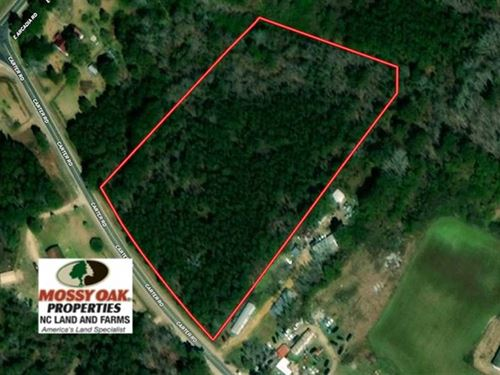 Under Contract, 4 Acres of Resid : East Arcadia : Bladen County : North Carolina