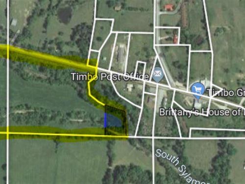 Highway Frontage In Timbo Arkansas : Timbo : Stone County : Arkansas