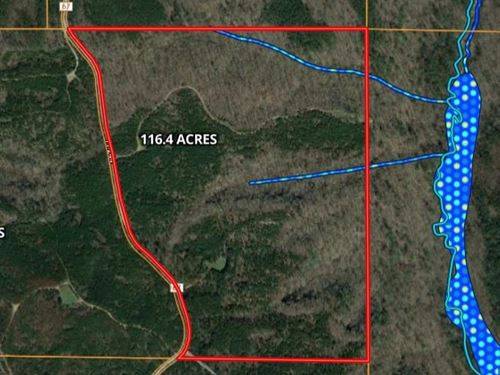 116 Acres Bankhead National Forest : Moulton : Lawrence County : Alabama