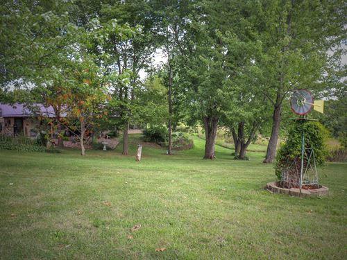 IA Home Acreage, Hard Surface Road : Douds : Van Buren County : Iowa