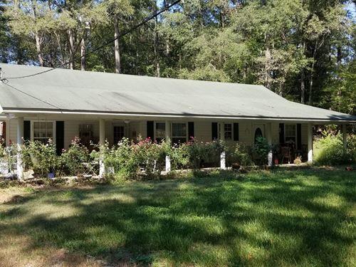 West Ouachita Home 20 Acres, Pond : Columbia : Ouachita Parish : Louisiana