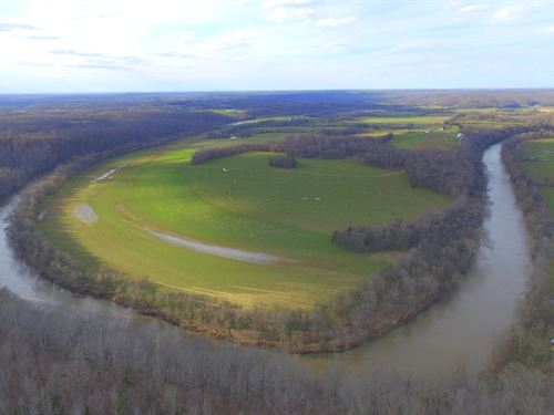 82 Acres On The Duck River : Centerville : Hickman County : Tennessee