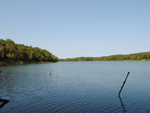 Greers Ferry Lake Lakefront Lot : Clinton : Van Buren County : Arkansas