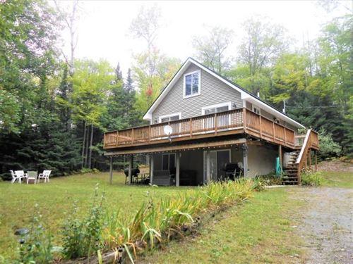 Country Home Lake Access Lachine MI : Lachine : Alpena County : Michigan