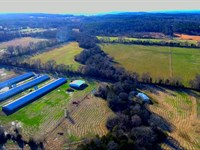 Butterball Turkey Farm With 65 Acre : Knoxville : Johnson County : Arkansas