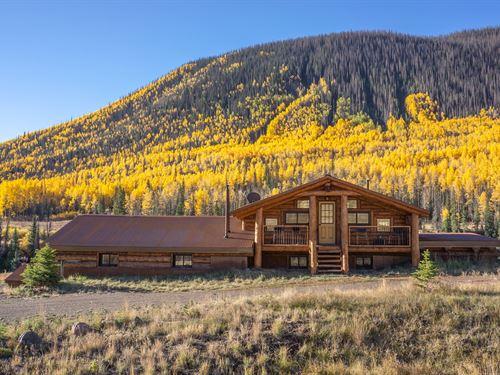 Paradise Found, River, Mountains : Creede : Hinsdale County : Colorado