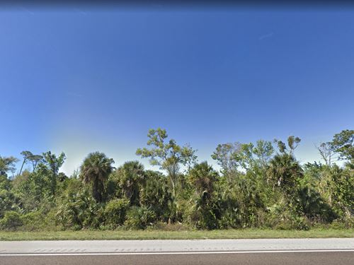 By I-95 Near Planned Development : Oak Hill : Volusia County : Florida