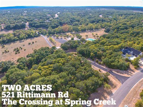 2.08 Acres In Comal County : Spring Branch : Comal County : Texas