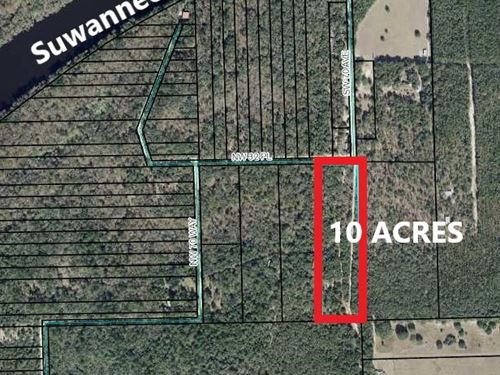 Land, 10 Acres Bell Florida : Bell : Gilchrist County : Florida