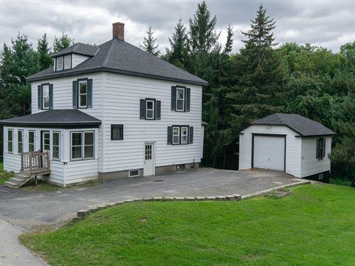 Historic Home in Bangor, Maine : Bangor : Penobscot County : Maine