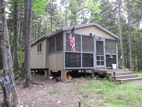 Solar Powered Camp Washington : Wesley : Washington County : Maine