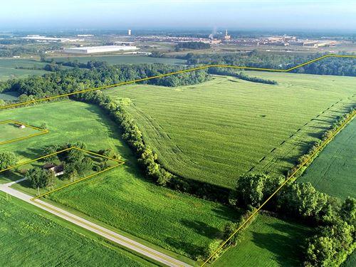Land Auction In Allen County, In : Roanoke : Allen County : Indiana