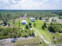 Home on 75 Acres of Timberland : Folkston : Charlton County : Georgia