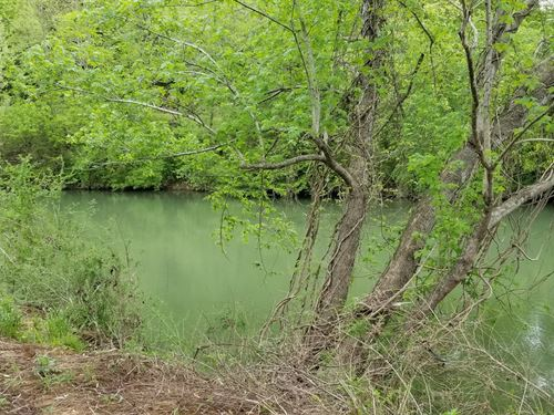 Buffalo River Camping Lot For Sale : Linden : Perry County : Tennessee