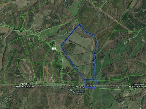 111 Acres Farmland Mountain Hill : Ringgold : Pittsylvania County : Virginia