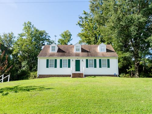Hertford, NC Home-Over 1 Acre Lot : Hertford : Perquimans County : North Carolina