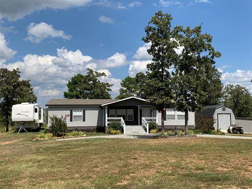 Land Home SE Oklahoma, Talihina : Talihina : Latimer County : Oklahoma