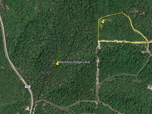 Cleared Woodland Building Site : Yellville : Marion County : Arkansas