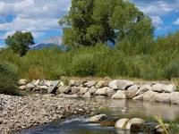 Little Arkansas Riverfront : Poncha Springs : Chaffee County : Colorado