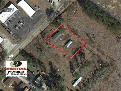 .62 Acres of Commercial Land : Whiteville : Columbus County : North Carolina