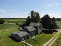 125 Acre Farm in Eagle, MI : Eagle : Clinton County : Michigan