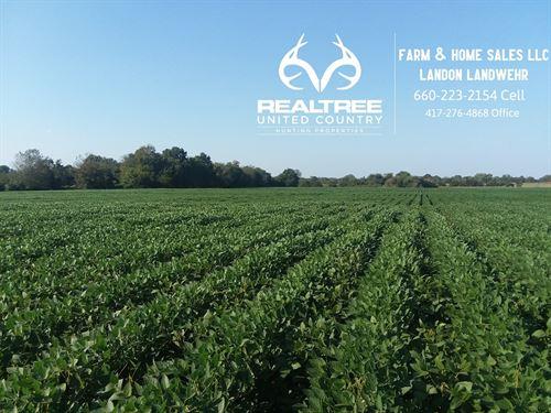 25 Acre Farm/Hunting Land, Vernon : Sheldon : Vernon County : Missouri