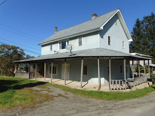 Two Family Country Home : Deposit : Broome County : New York