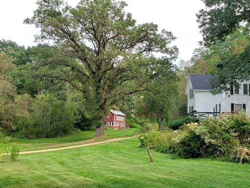 Country Home 34.75 Acres SW : Ontario : Vernon County : Wisconsin