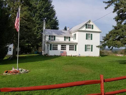 10 +/- Acres, Honey Hill Farmette : Shickshinny : Columbia County : Pennsylvania