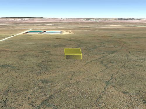 1.41 Acre To Build Your Dream Home : Holbrook : Navajo County : Arizona