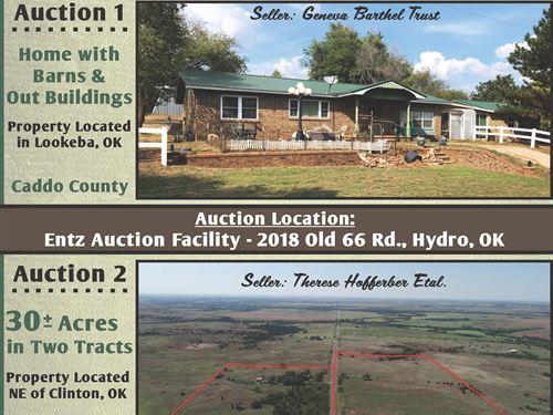 1 Day, 2 Auctions : Hydro : Oklahoma County : Oklahoma