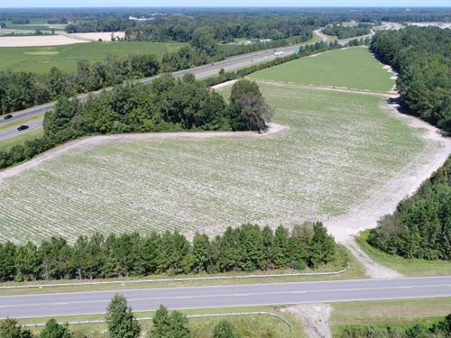 I-795 Farmland & Timber : Fremont : Wayne County : North Carolina