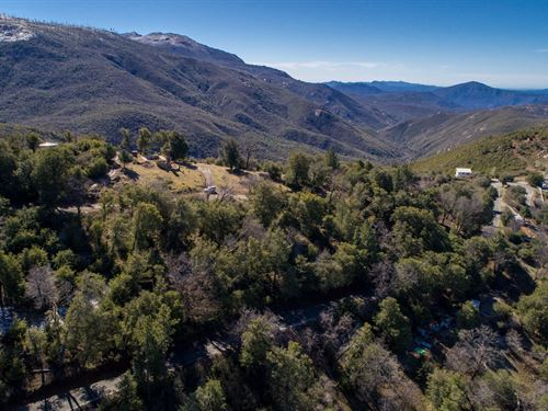 Cuyamaca Woods Property : Julian : San Diego County : California