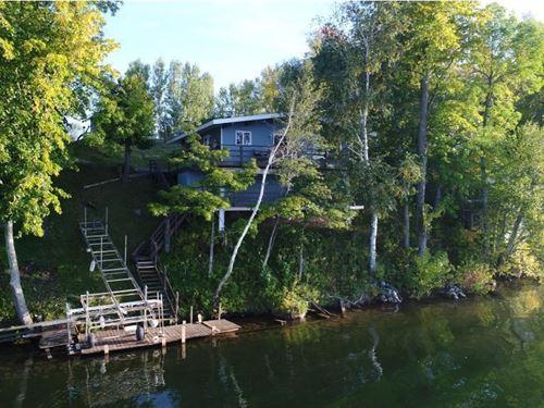 Seasonal Lake Cabin Sturgeon Lake : Sturgeon Lake : Pine County : Minnesota